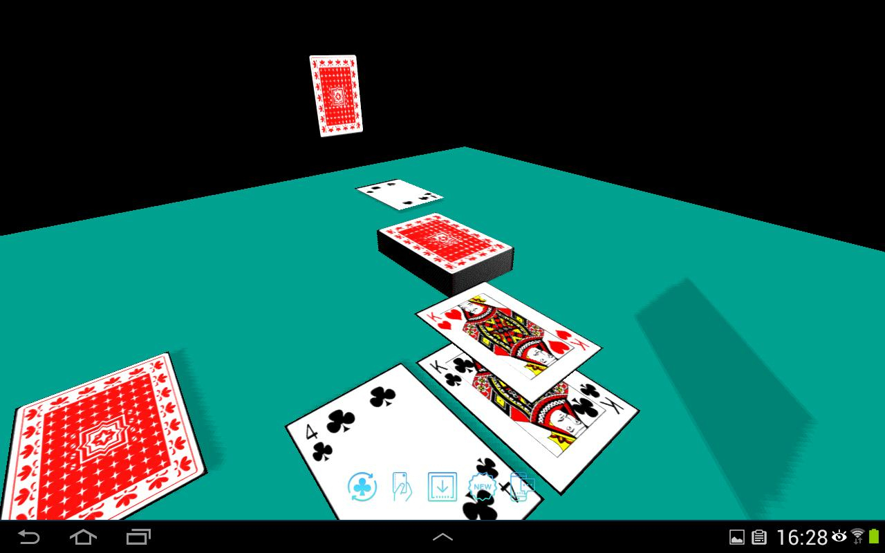 Android Için Cartes À Jouer 3D (Jeux Gratuit Sans Publicité avec تثعء لقضفعهف