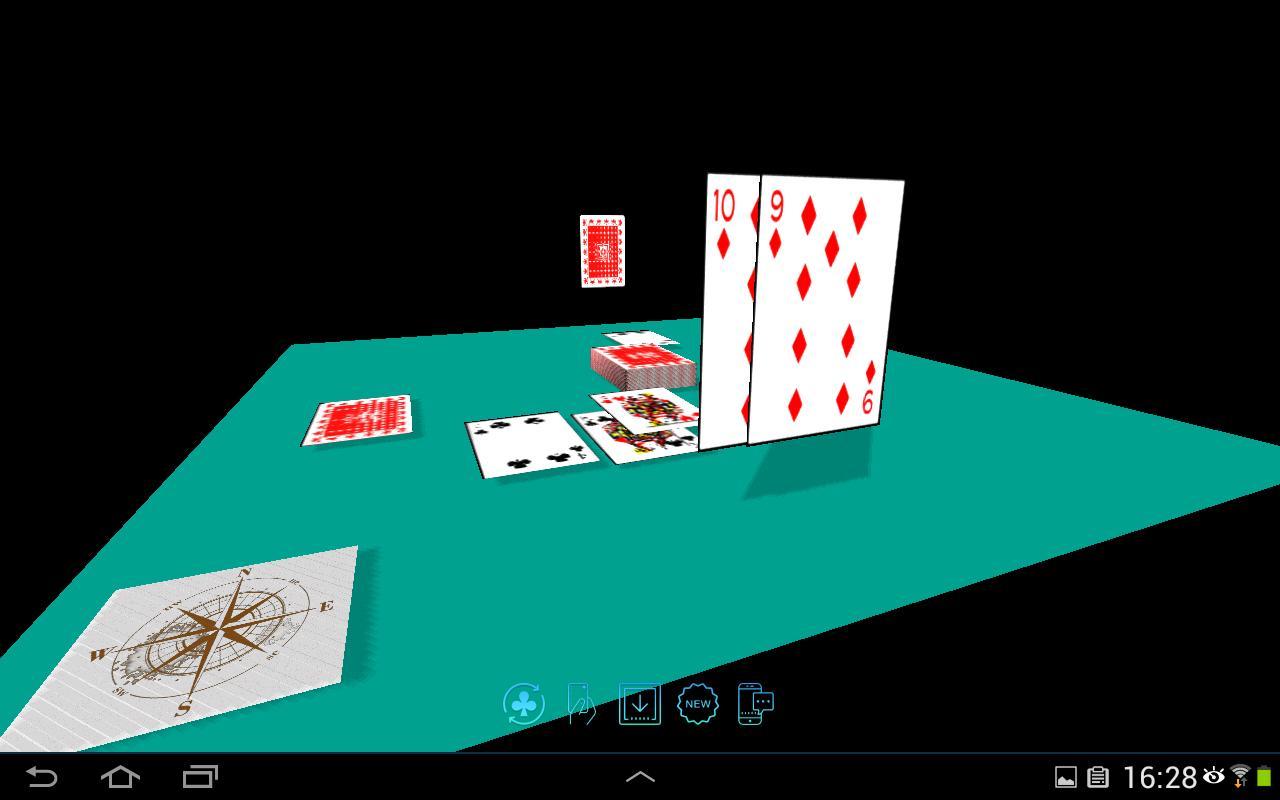 Android Için Cartes À Jouer 3D (Jeux Gratuit Sans Publicité encequiconcerne تثعء لقضفعهف