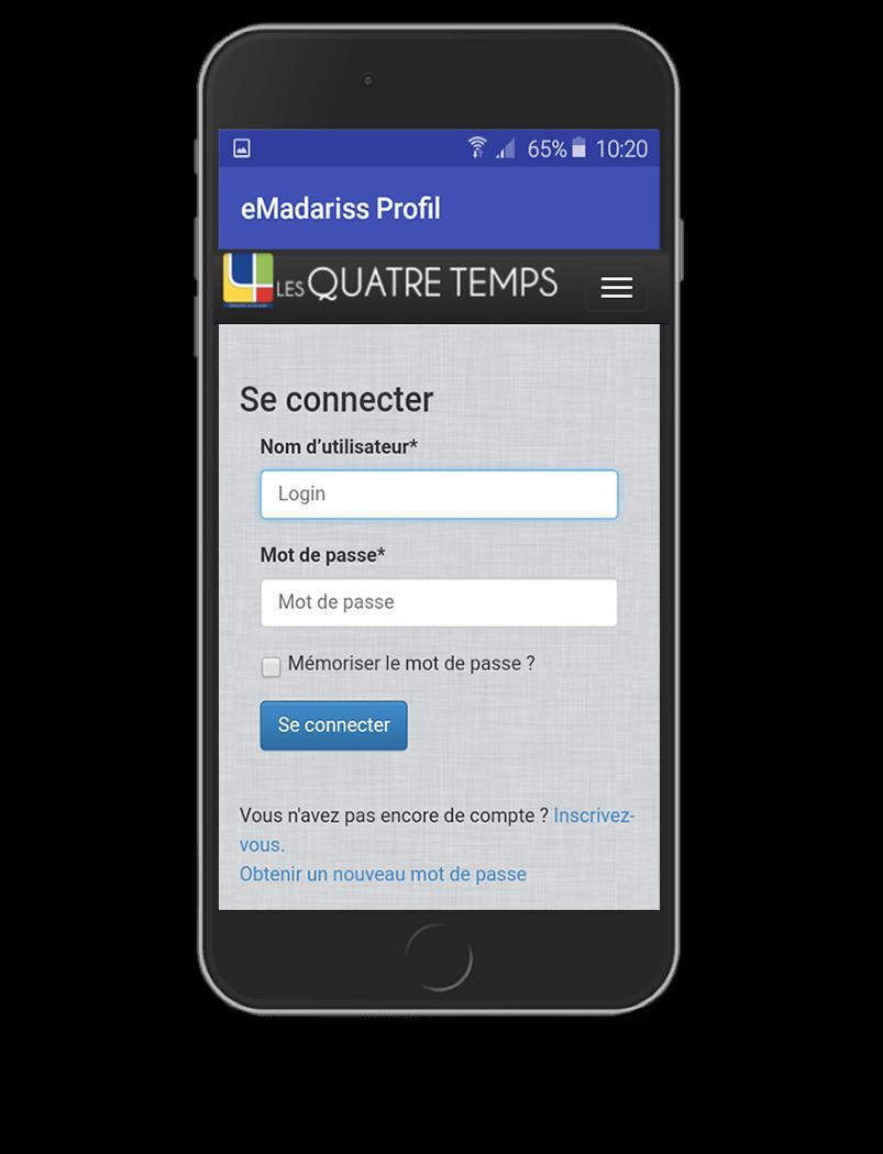 Android Için Emadariss Profil - G.s Les Quatre Temps - Apk concernant Quatres Image Un Mot
