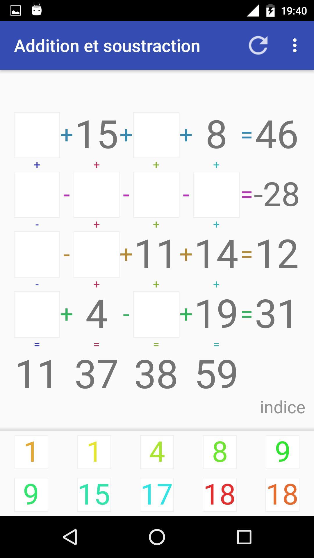 Android Için Jeu D'addition Et Soustraction - Apk'yı İndir dedans Comment Jouer Sudoku