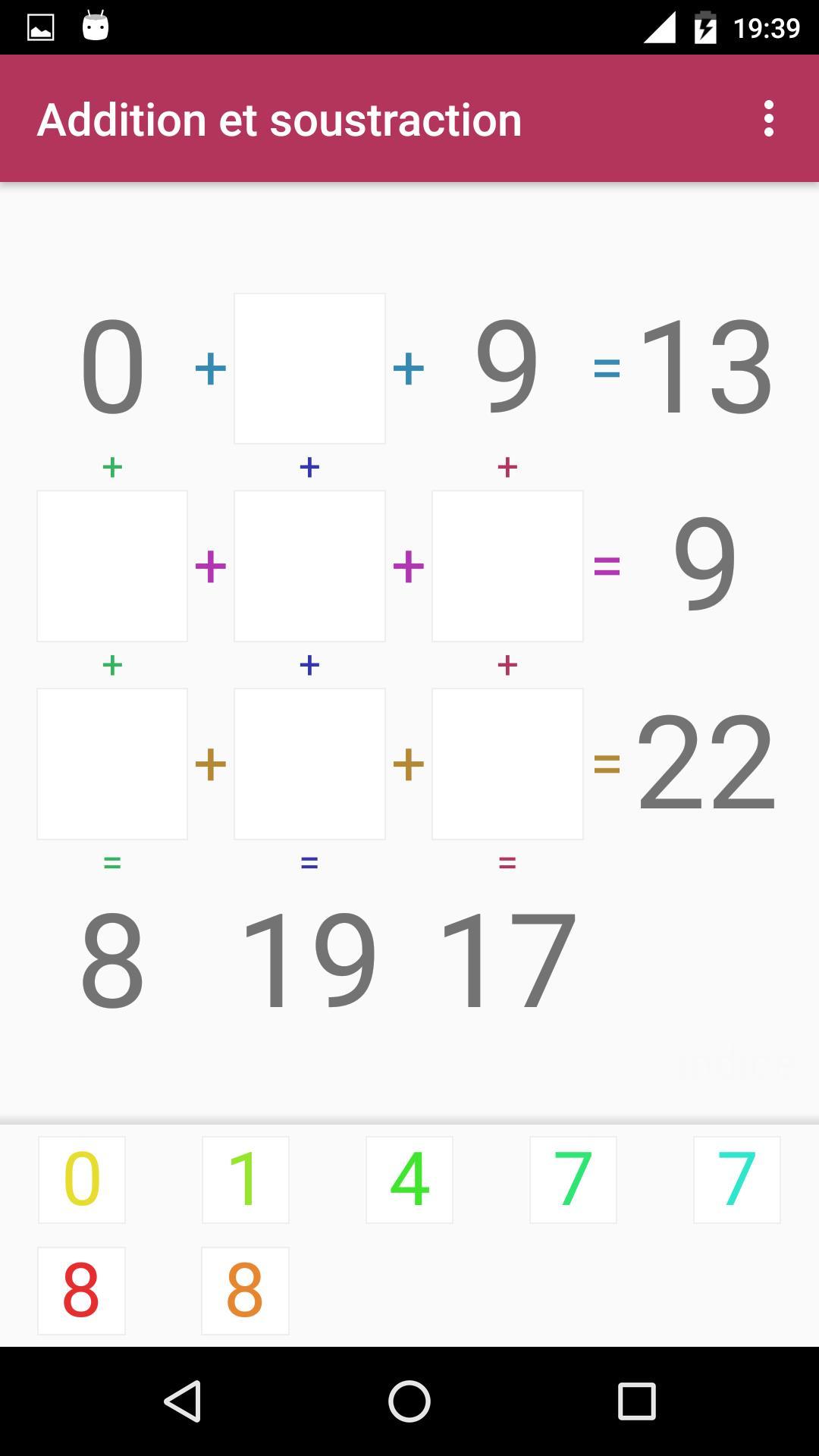 Android Için Jeu D'addition Et Soustraction - Apk'yı İndir destiné Comment Jouer Sudoku
