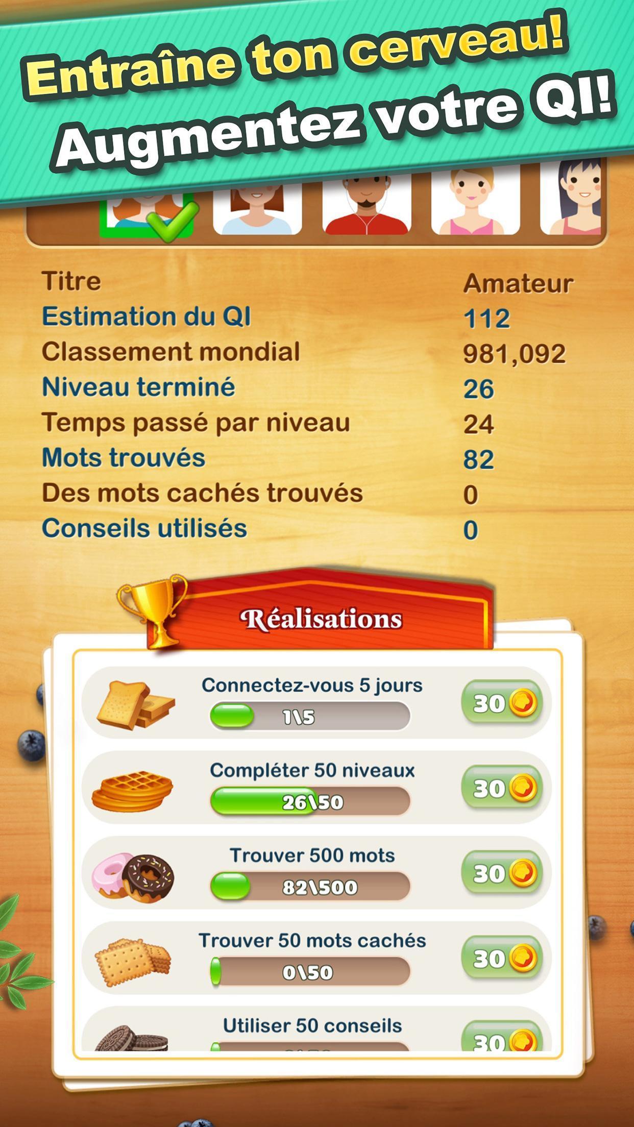 Android Için Jeux De Mots - Concours De Qi, #1 En Français destiné Jeux De Mots A Trouver