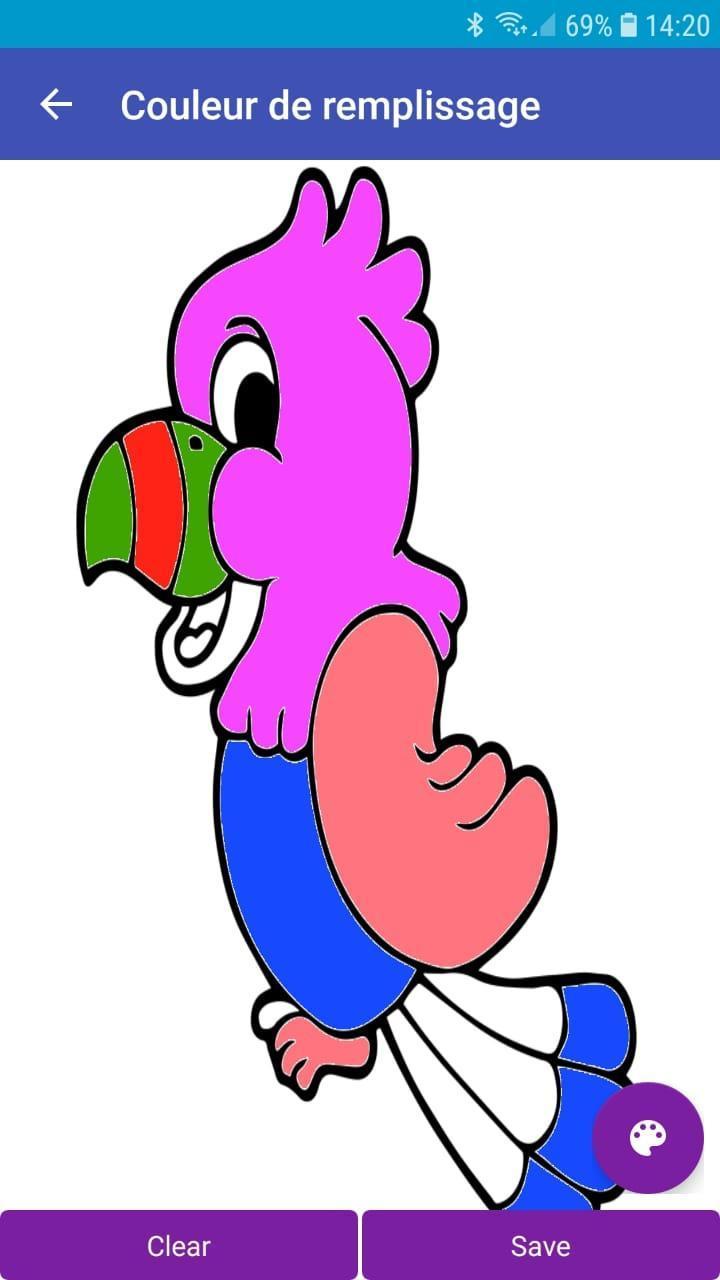 Android Için Le Colorial - Jeux Coloriage Enfants Pour à Jeux Enfant Animaux