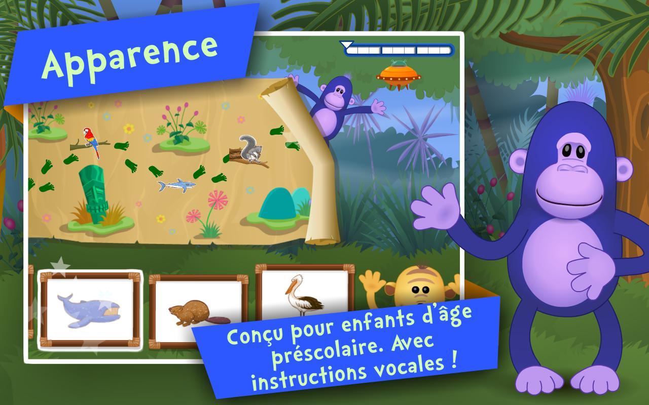Android Için Les Animaux ! Jeux Enfants - Apk'yı İndir dedans Animaux De La Jungle Maternelle