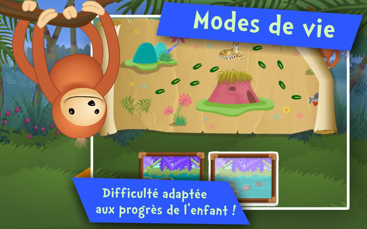 Android Için Les Animaux ! Jeux Enfants - Apk'yı İndir intérieur Jeux Enfant Animaux