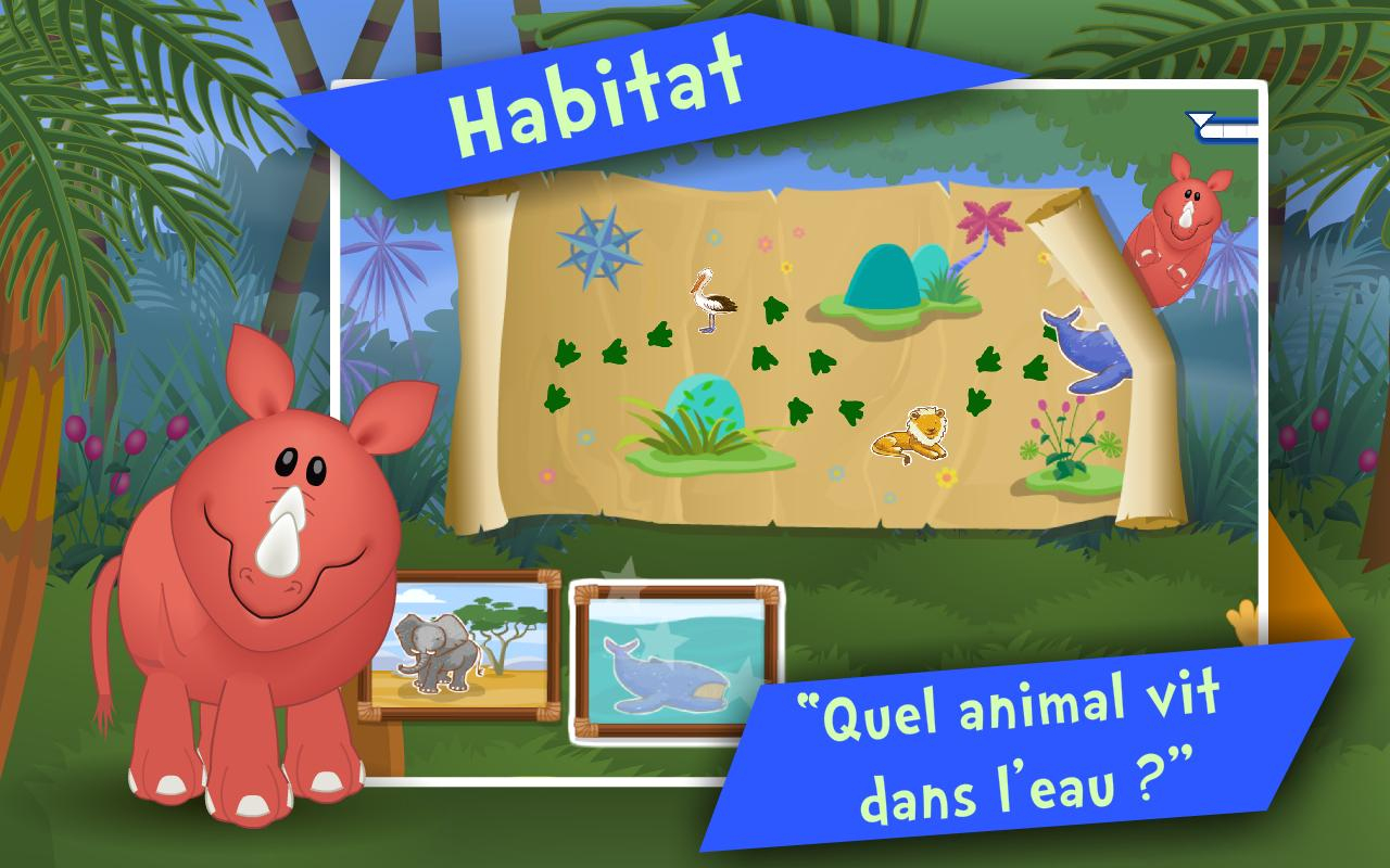 Android Için Les Animaux ! Jeux Enfants - Apk'yı İndir serapportantà Animaux De La Jungle Maternelle