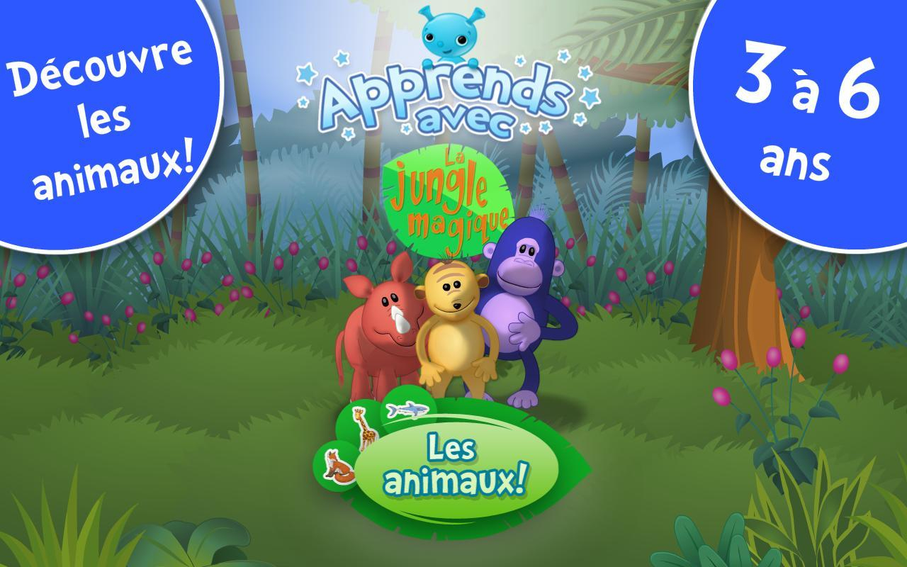Android Için Les Animaux ! Jeux Enfants - Apk'yı İndir serapportantà Jeux Enfant Sur Pc