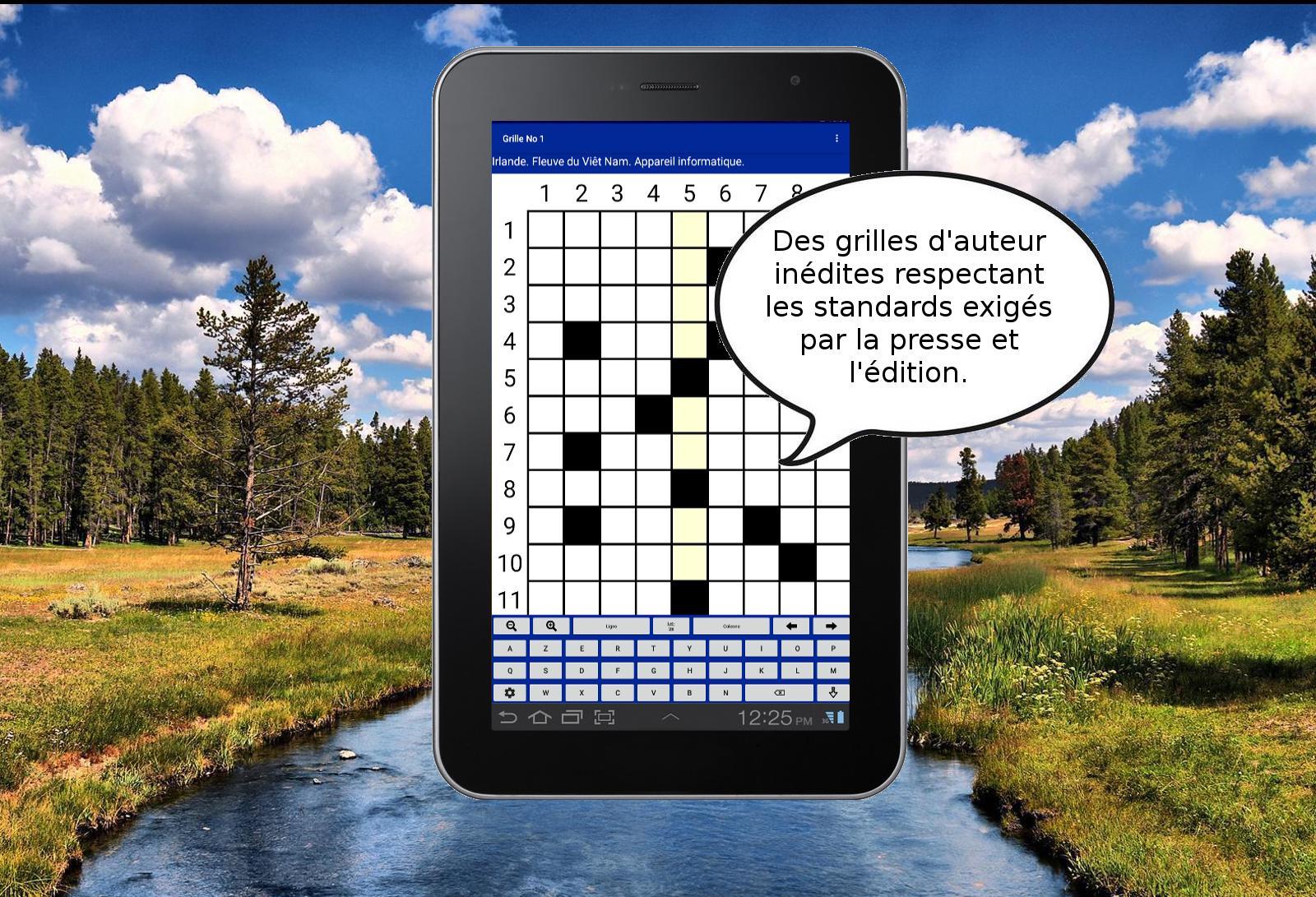 Android Için Mots Croisés Gratuits 2 - Jeu De Lettres. - Apk serapportantà Les Mots Croisés Gratuits