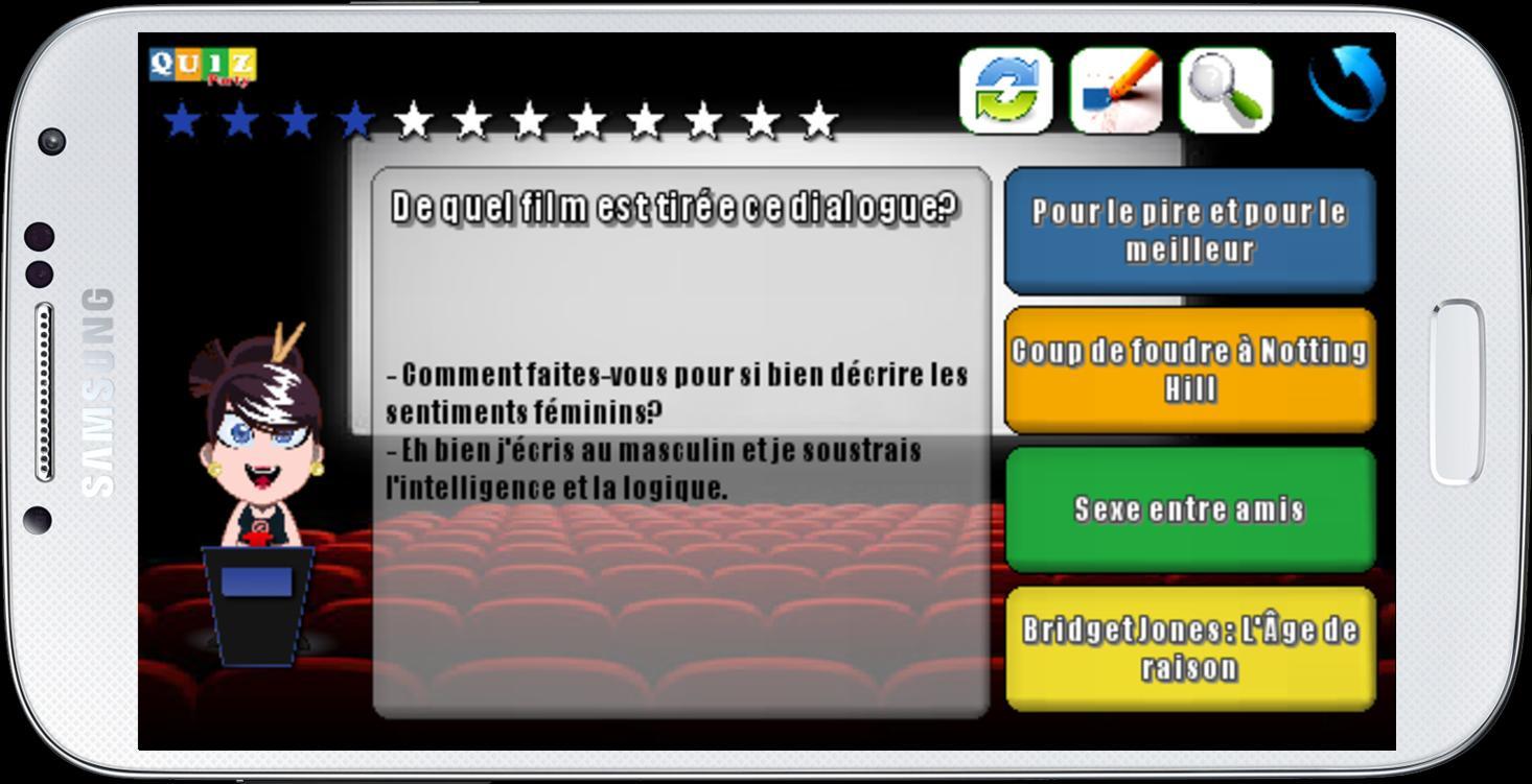 Android Için Quiz Party Cinéma - Apk'yı İndir destiné Quiz Logique Gratuit