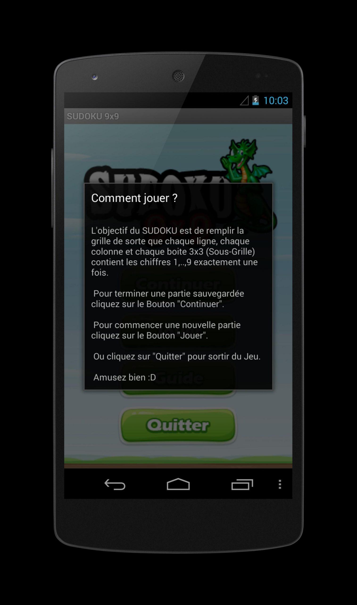 Android Için Sudoku 9X9 - Apk'yı İndir dedans Comment Jouer Sudoku