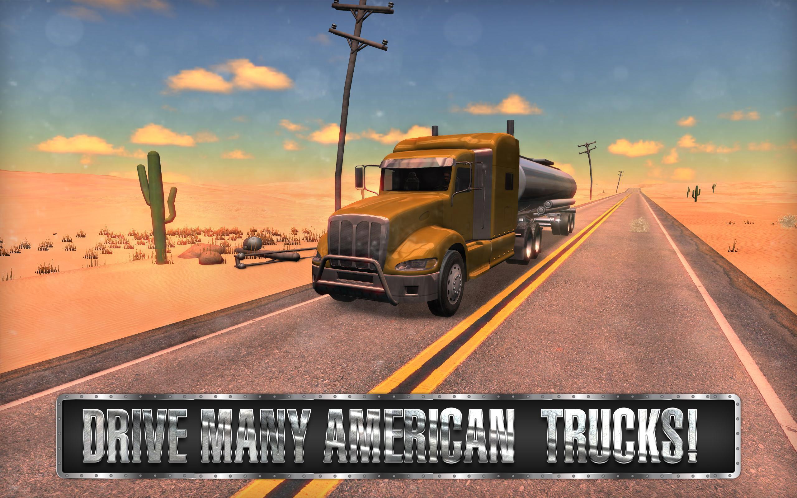Android Için Truck Simulator Usa - Apk'yı İndir à Jeux De Tir 2