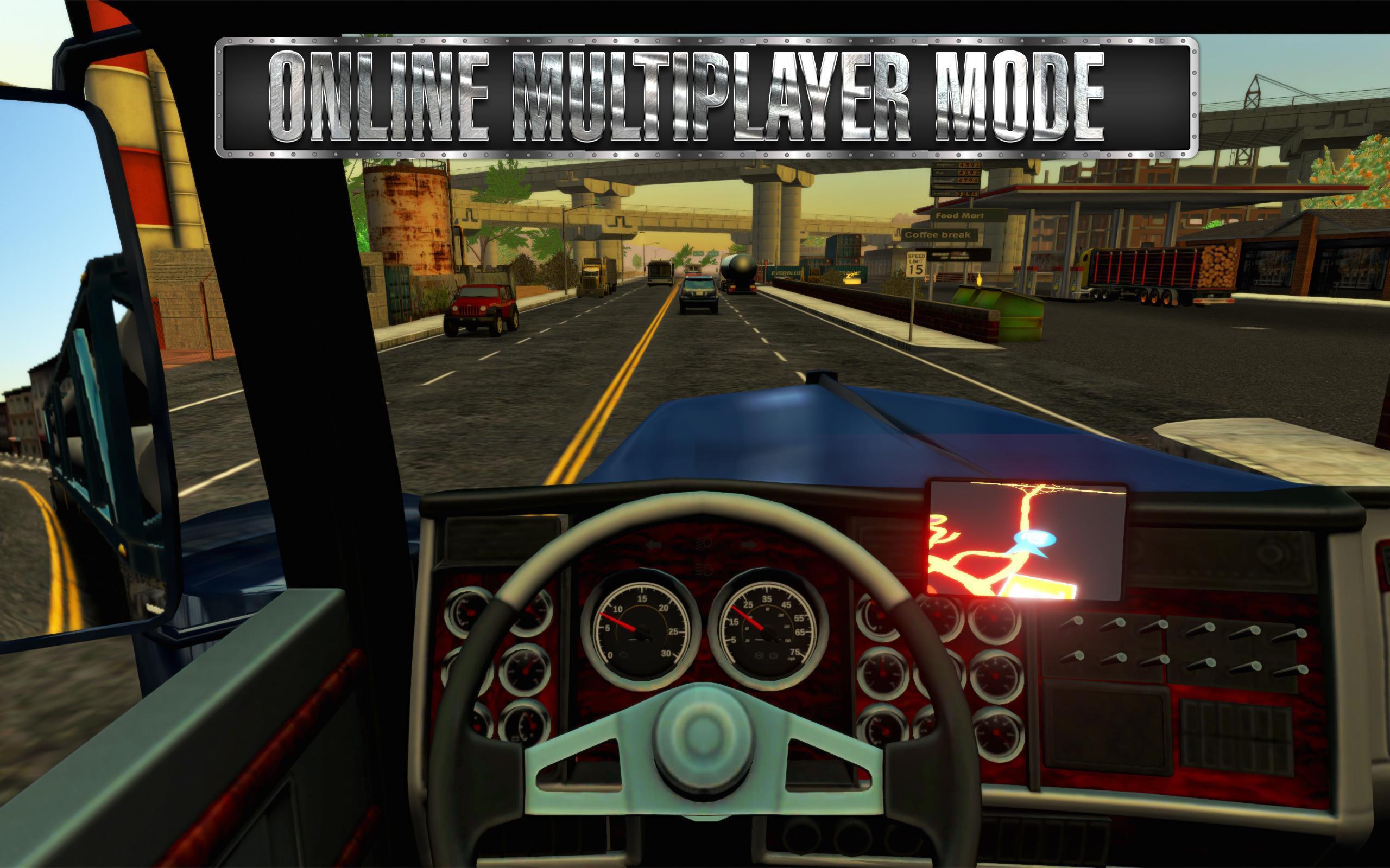 Android Için Truck Simulator Usa - Apk'yı İndir concernant Jeux De Tir 2