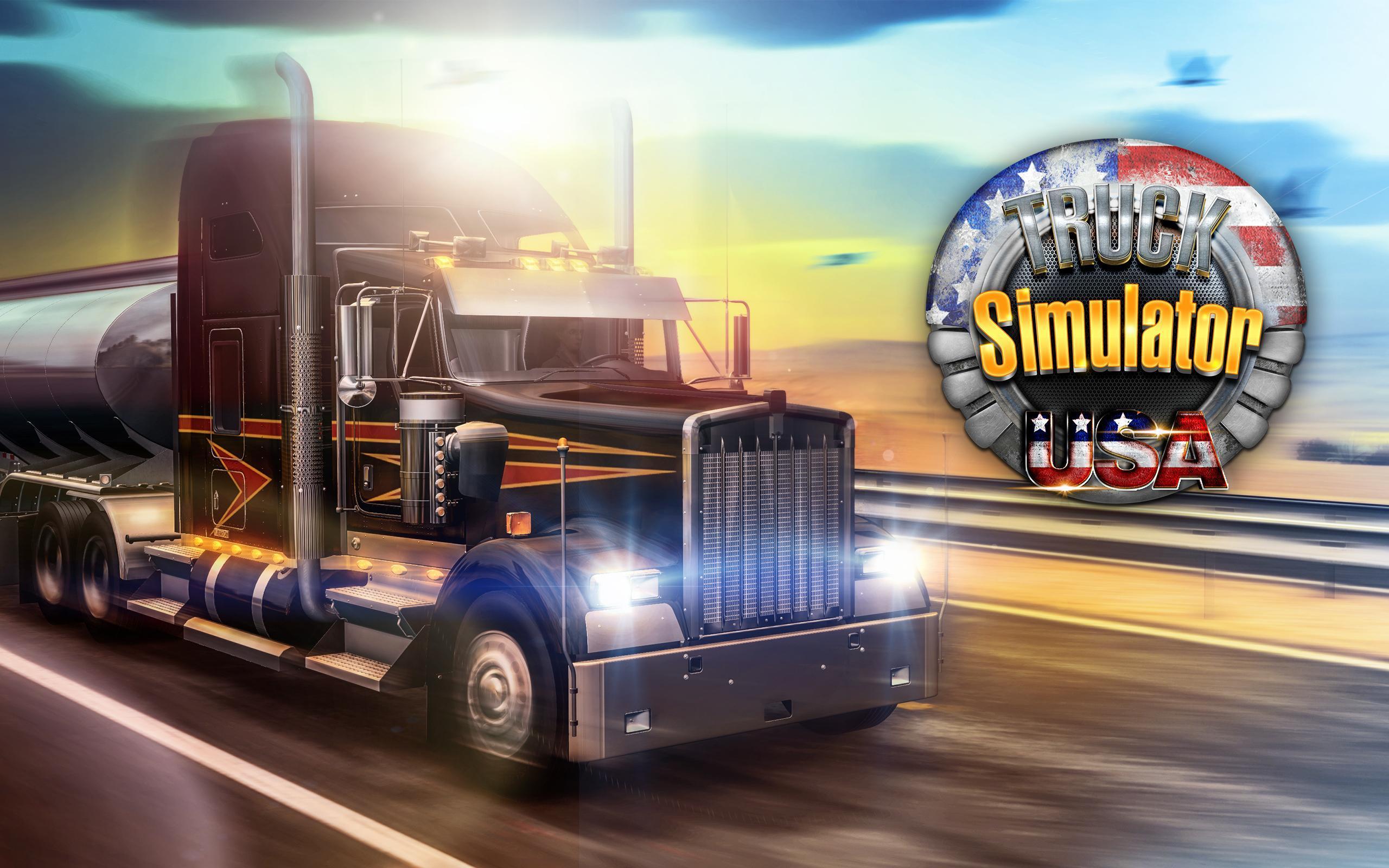 Android Için Truck Simulator Usa - Apk'yı İndir dedans Jeux De Tir 2