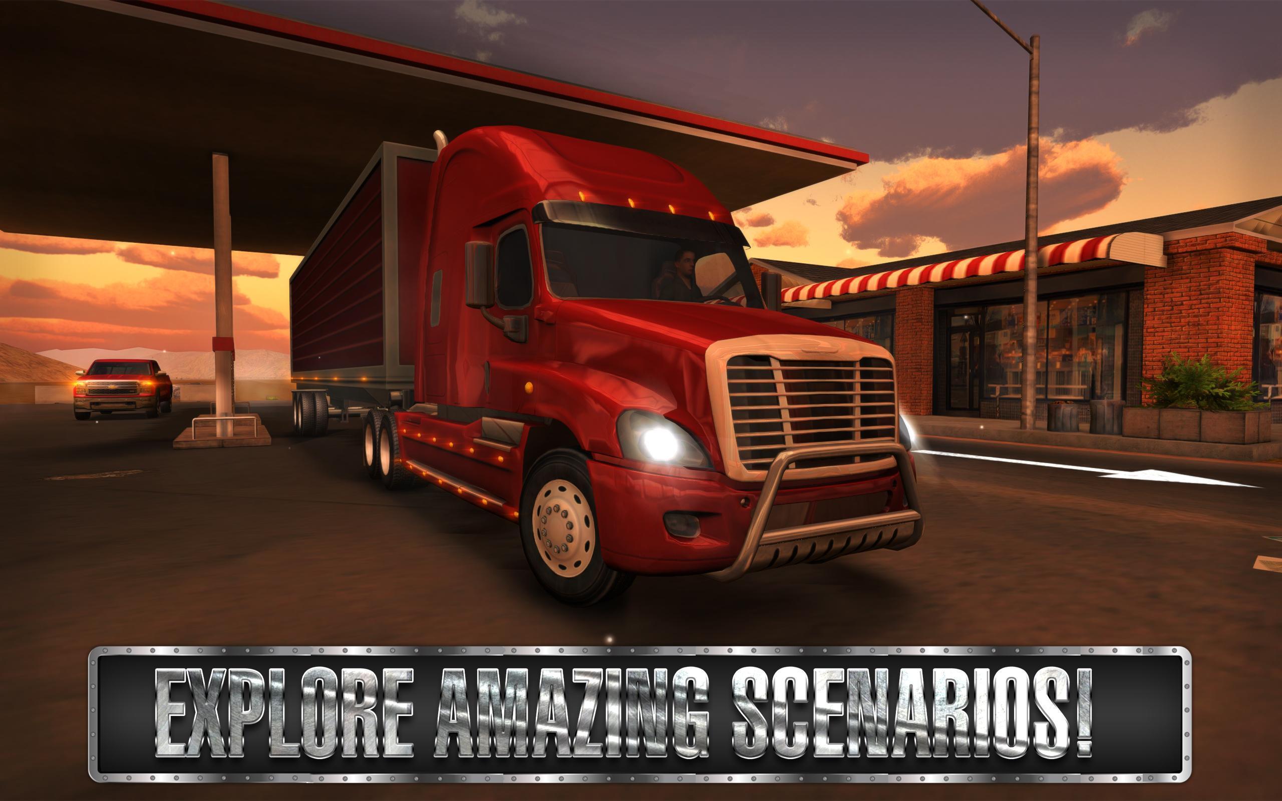 Android Için Truck Simulator Usa - Apk'yı İndir destiné Jeux De Tir 2