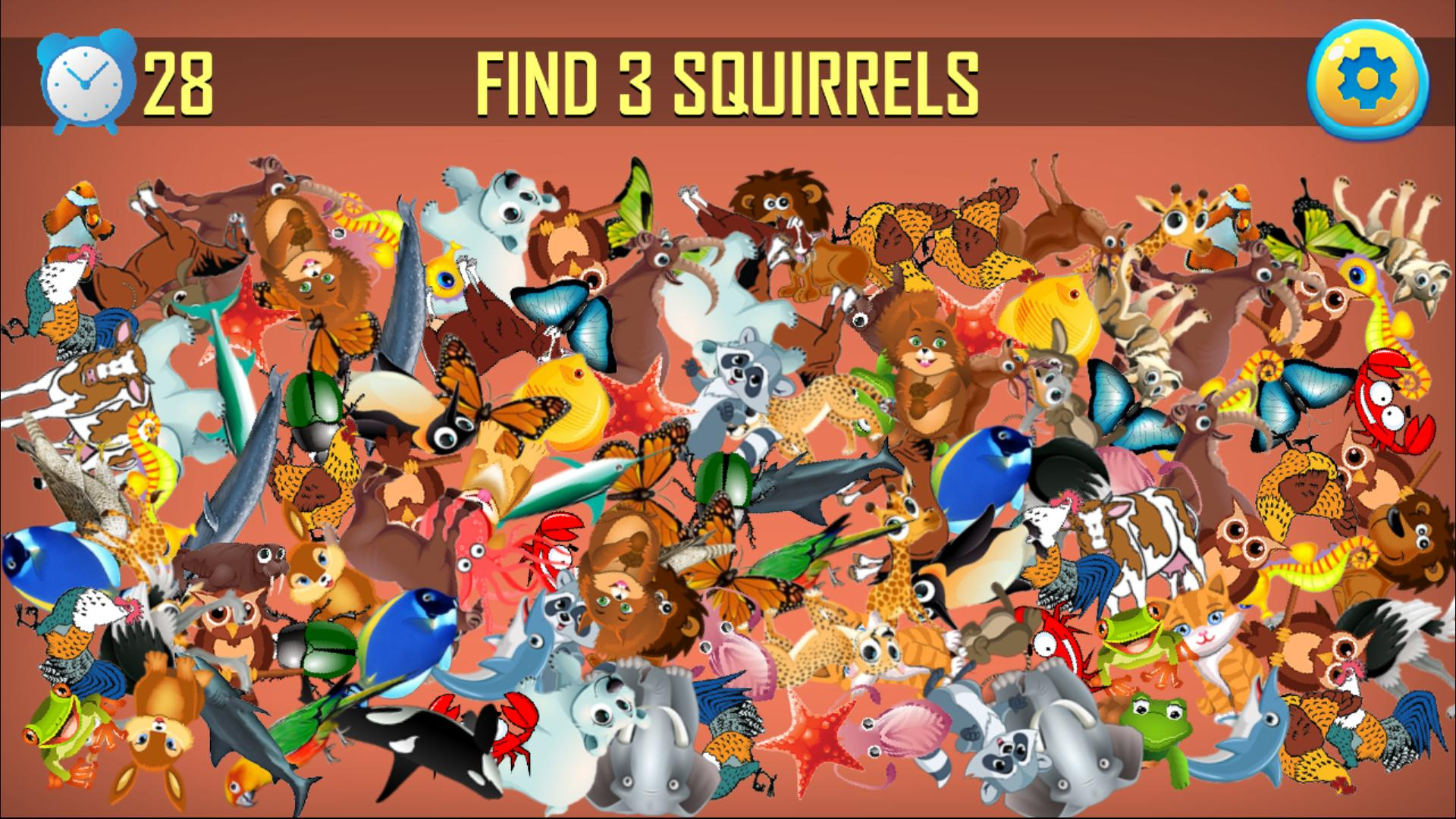Animal Jeux D'objets Cachés - Chercher Et Trouver Pour à Jeux Trouver Objet