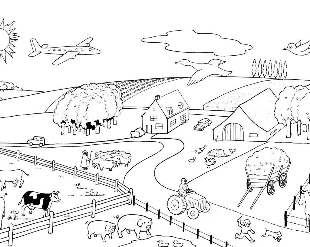 Animaux De La Ferme #15 (Animaux) – Coloriages À Imprimer tout Animaux De La Ferme A Imprimer
