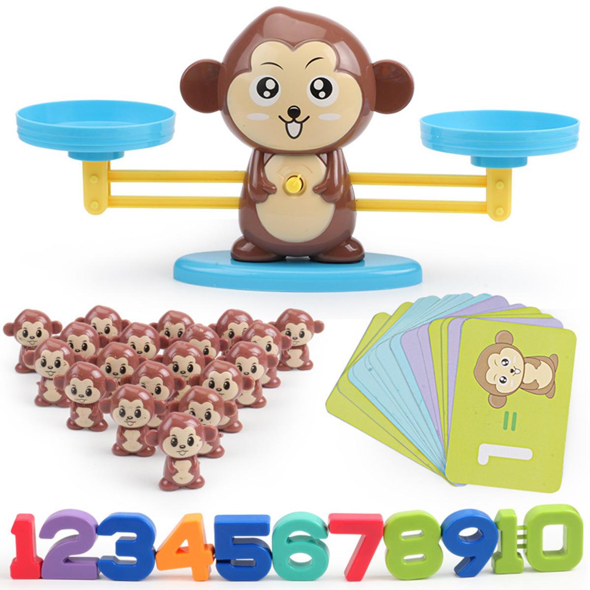 Animaux Nombre Balance Math Jouets Jouets Éducatifs Enfant D'âge  Préscolaire Jeu D'équilibre De Mathématiques serapportantà Jeux Animaux Enfant