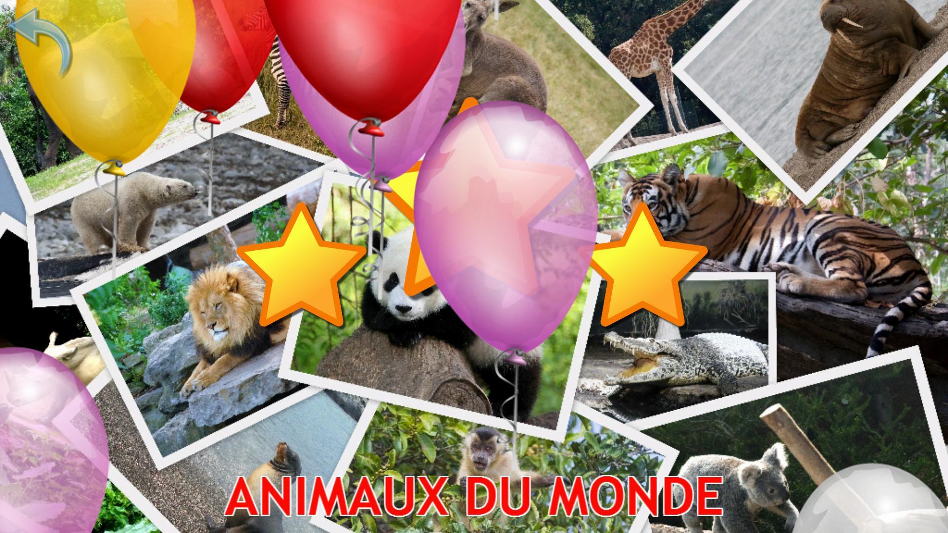 Animaux Pour Les Enfants, Jeux Bébé Gratuit Pour Android destiné Jeux De Bébé Animaux Gratuit