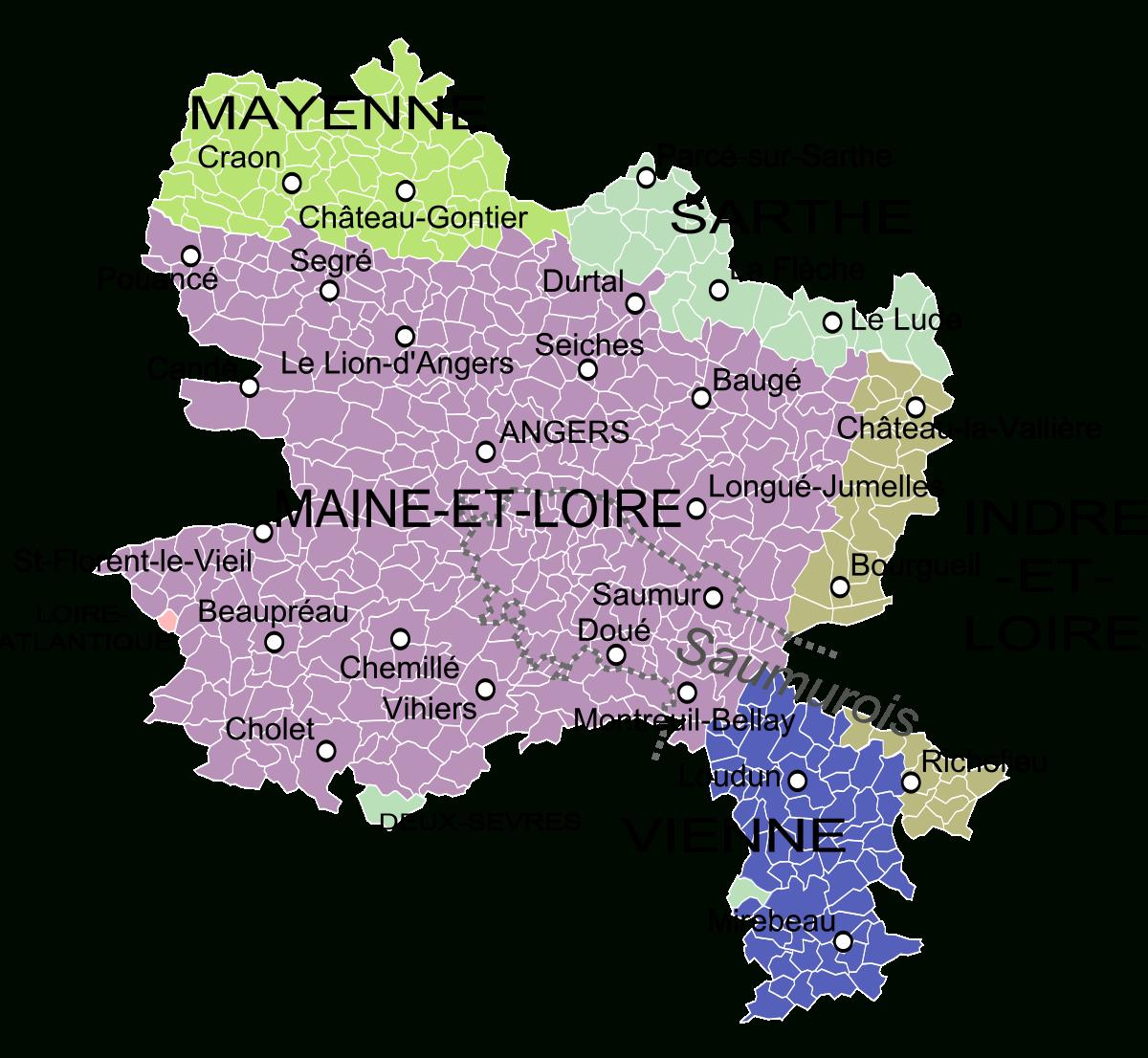 Anjou — Wiktionnaire intérieur Carte Anciennes Provinces Françaises