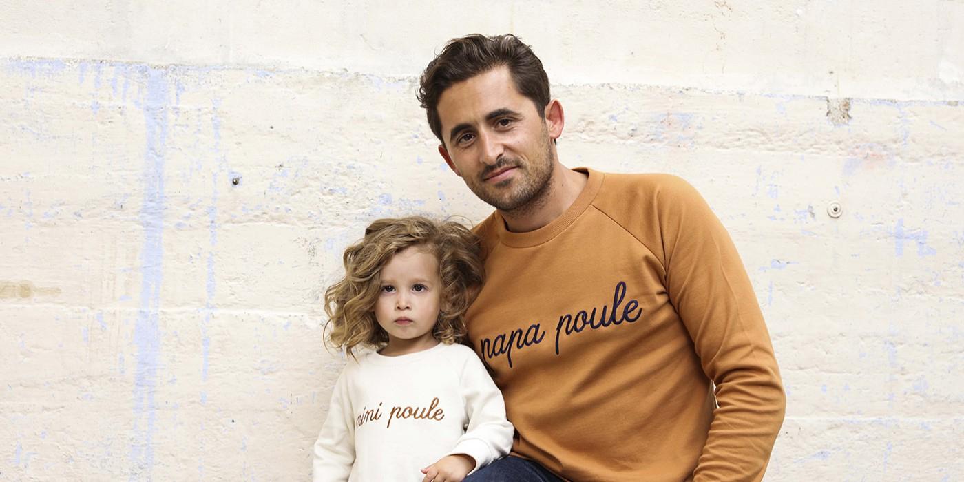 Antoine, 33 Ans, Papa Poule De Brune, 2 Ans Et Demi, Et D'un avec Bebe A 2 Ans Et Demi