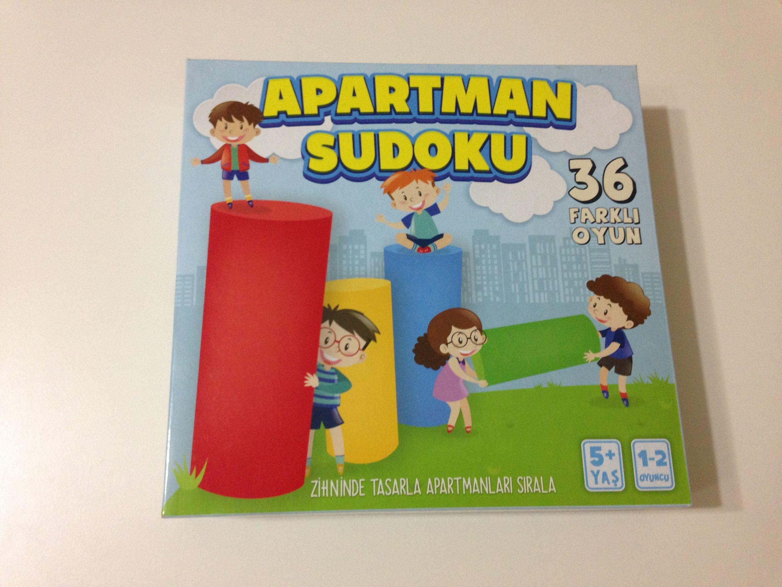 Apartman Sudoku Akıl Ve Zeka Oyunu.. Eğitici Oyun 35 Tl destiné Telecharger Sudoku