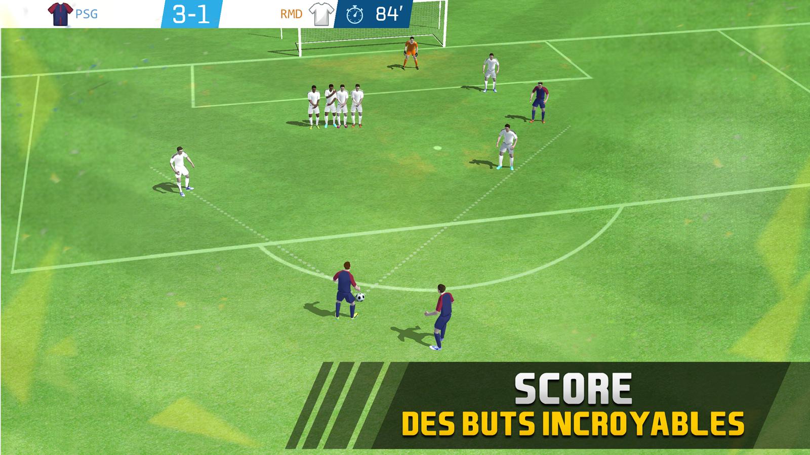 Appli Mobile : Jeu Soccer Star 2018 Top League Sur Android intérieur Jeux Foot Tablette