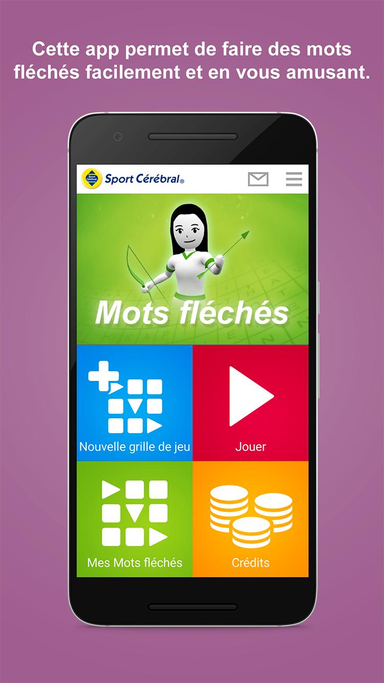 Application Mots Fléchés Mobile intérieur Mot Fleches Geant