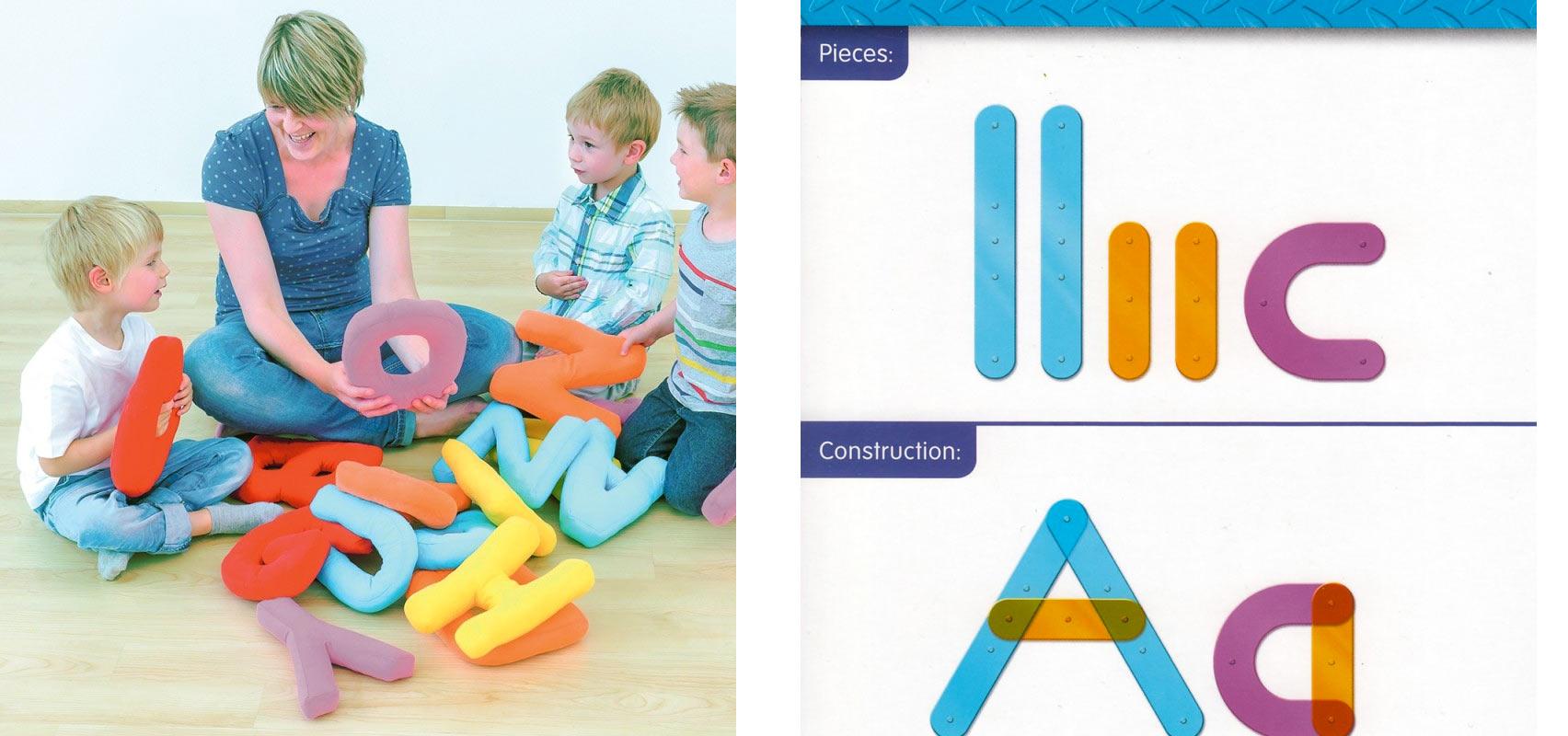 Appréhender L'alphabet Et Les Lettres En Jouant Grâce Au Jeu à Apprendre Les Lettres En Jouant