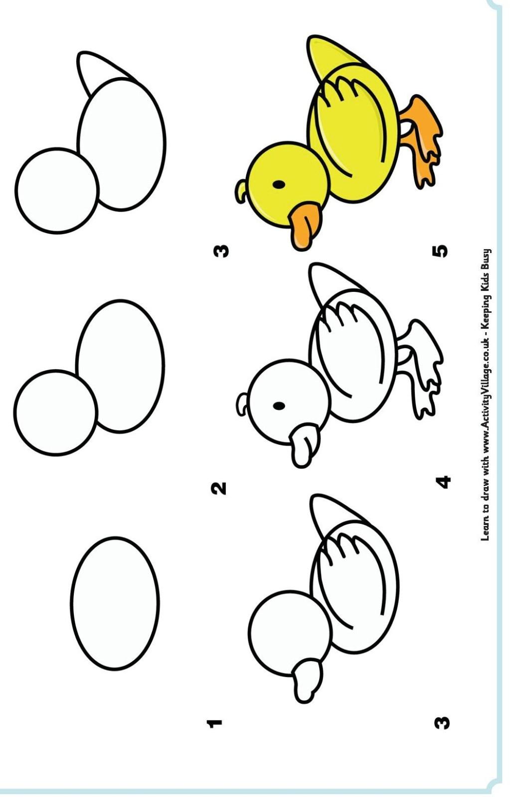 Apprendre À Dessiner - La Maternelle De Camille pour Apprendre A Dessiner Des Animaux Facilement Et Gratuitement