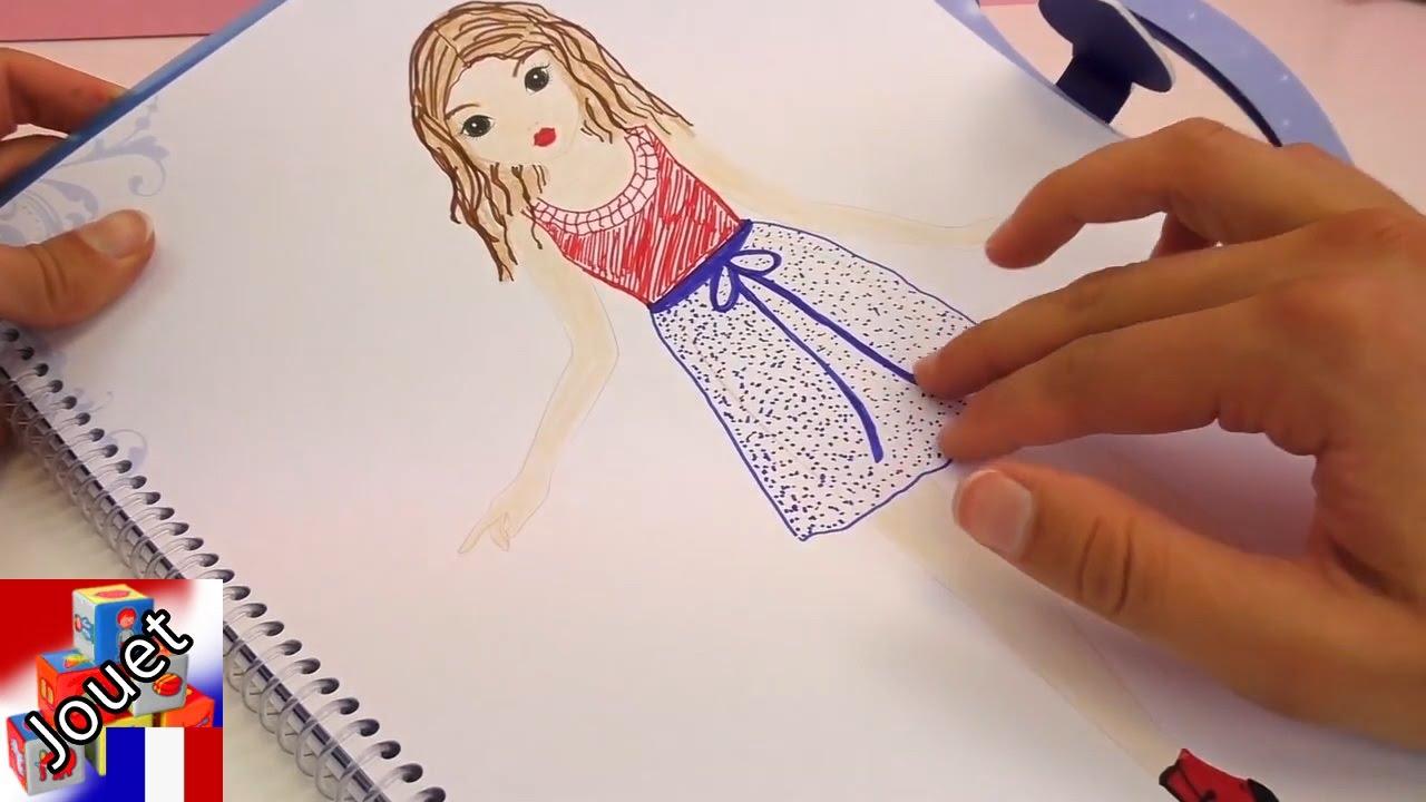 Apprendre À Dessiner Violetta – Le Livre Top Model À Colorier De Violetta serapportantà Top Model À Colorier