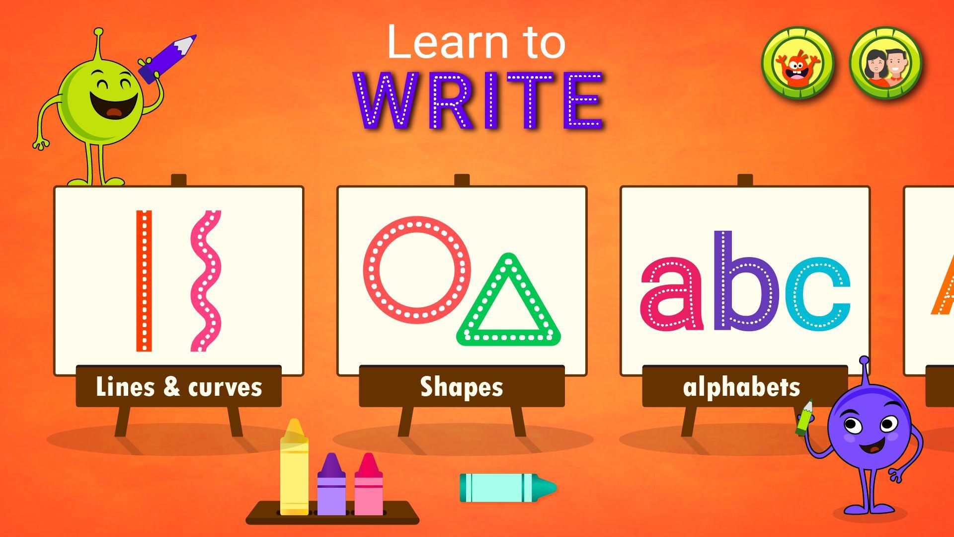 Apprendre À Écrire: Jeux Éducatifs Pour Enfants Pour Android à Jeux Pour Apprendre À Écrire