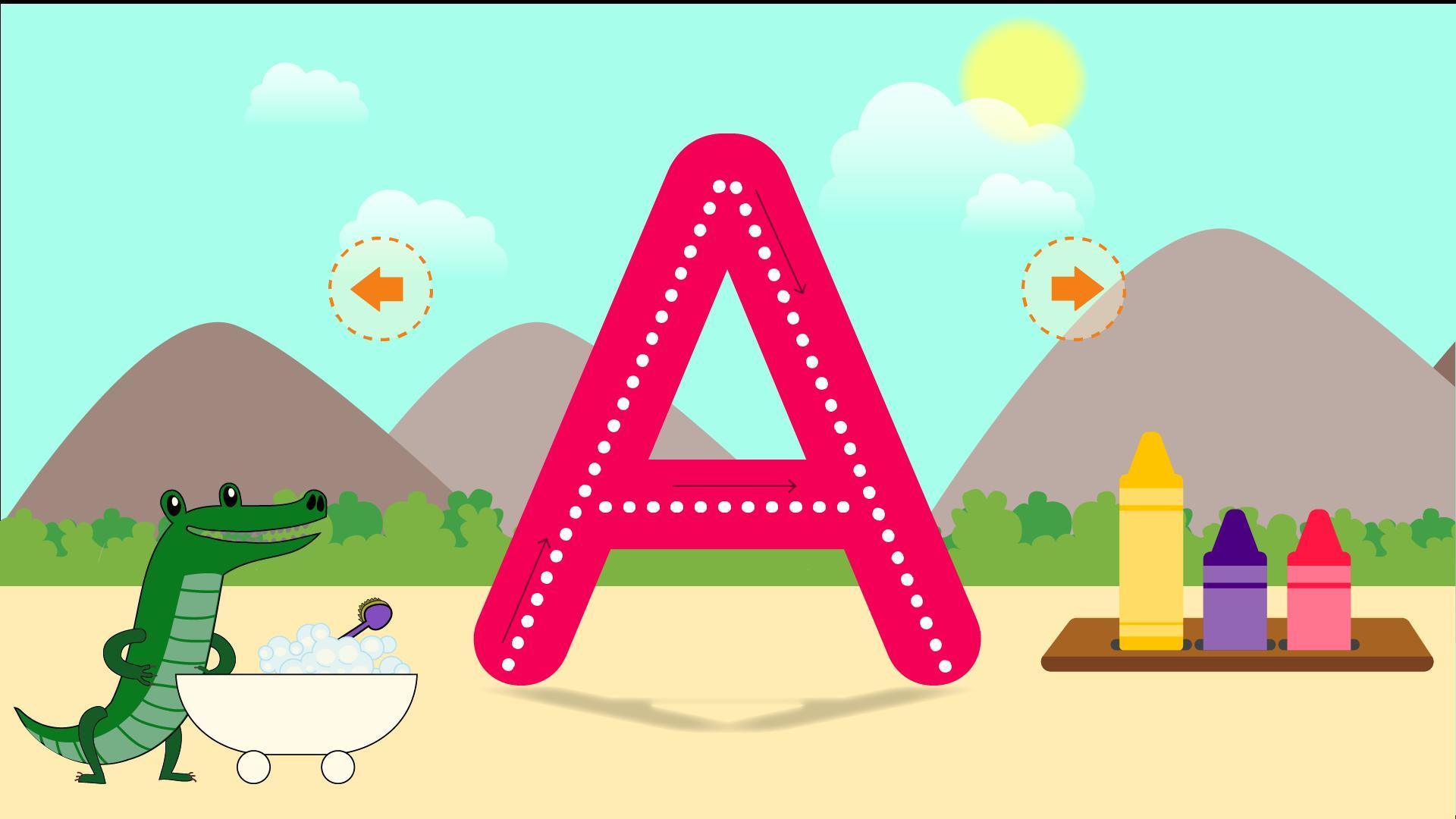 Apprendre À Écrire: Jeux Éducatifs Pour Enfants Pour Android concernant Jeux Pour Apprendre À Écrire