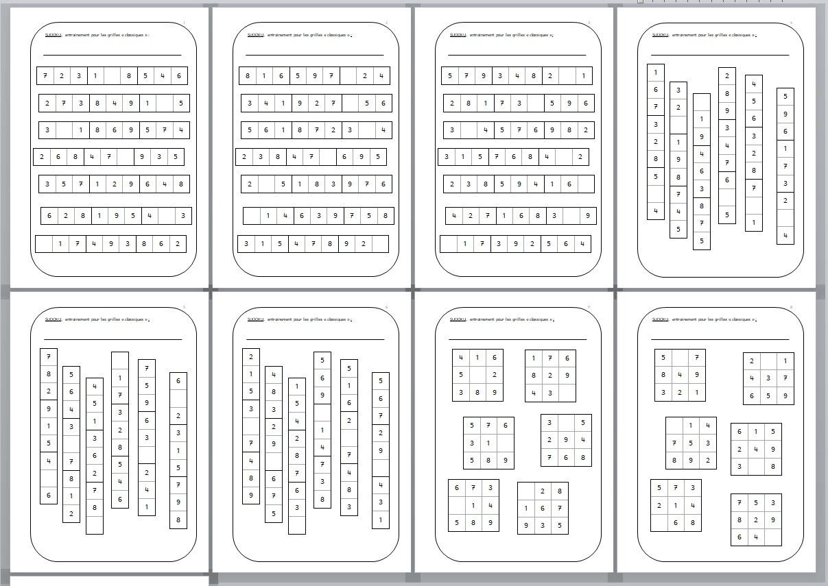 Apprendre À Jouer Au Sudoku - Jeux Pédagogiques Et Compagnie tout Comment Jouer Sudoku