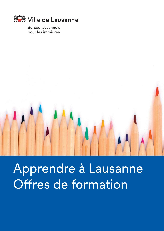 Apprendre À Lausanne By Ville De Lausanne - Issuu pour Apprendre A Ecrire Le Francais Pour Debutant