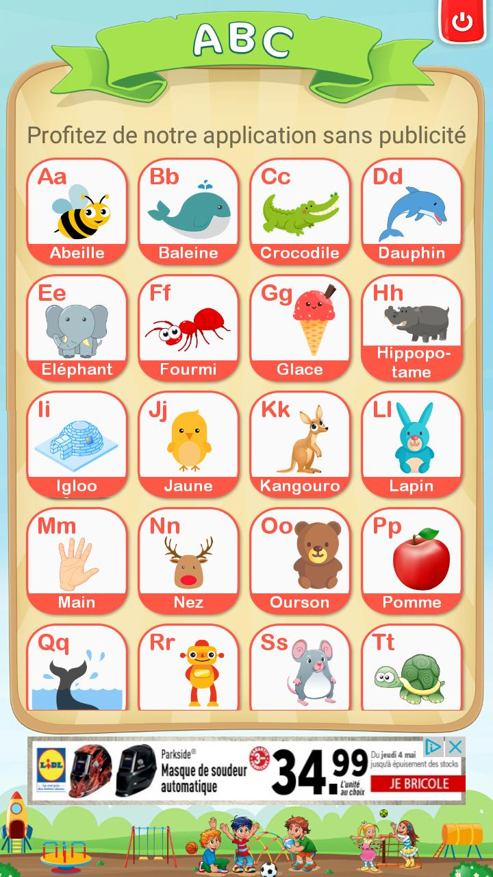 Apprendre L'alphabet Et Chiffres Français Gratuit Pour encequiconcerne Apprendre Les Chiffres En Français