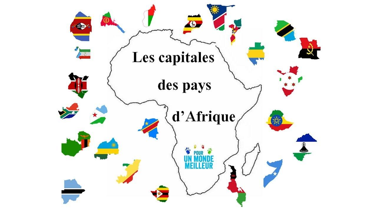 Apprendre Les Capitales Des Pays D'afrique - 2 - serapportantà Pays Et Leurs Capitales