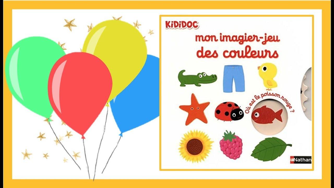 Apprendre Les Couleurs En Français Avec Mon Imagier-Jeu Kididoc ⭐️ avec Apprendre Les Couleur En Francais