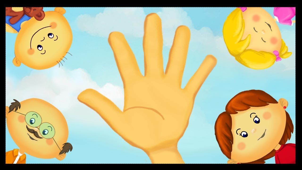 Apprendre Les Doigts De La Main avec Le Nom Des Doigts De La Main