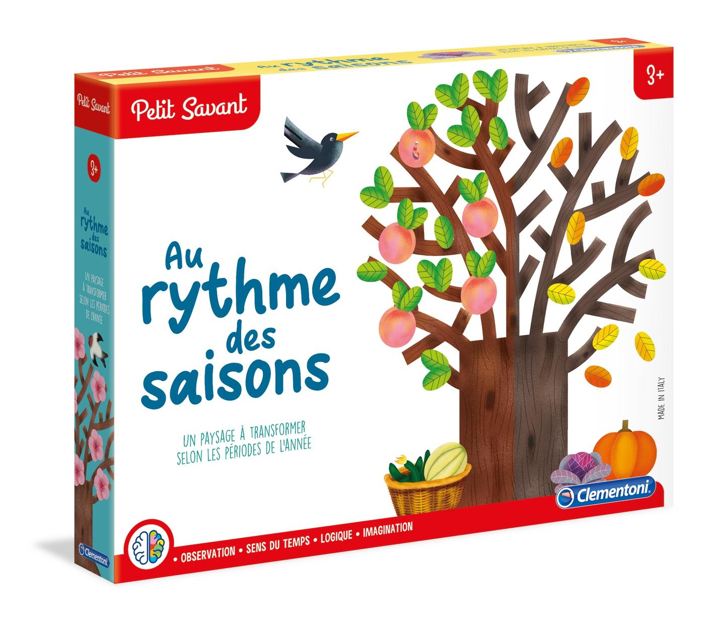 Apprendre Les Mois Et Les Saisons - Clementoni intérieur Apprendre Les Saisons En Maternelle