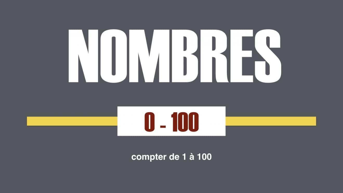 Apprendre Les Nombres En Français - La Prononciation - L encequiconcerne Apprendre Les Chiffres En Français
