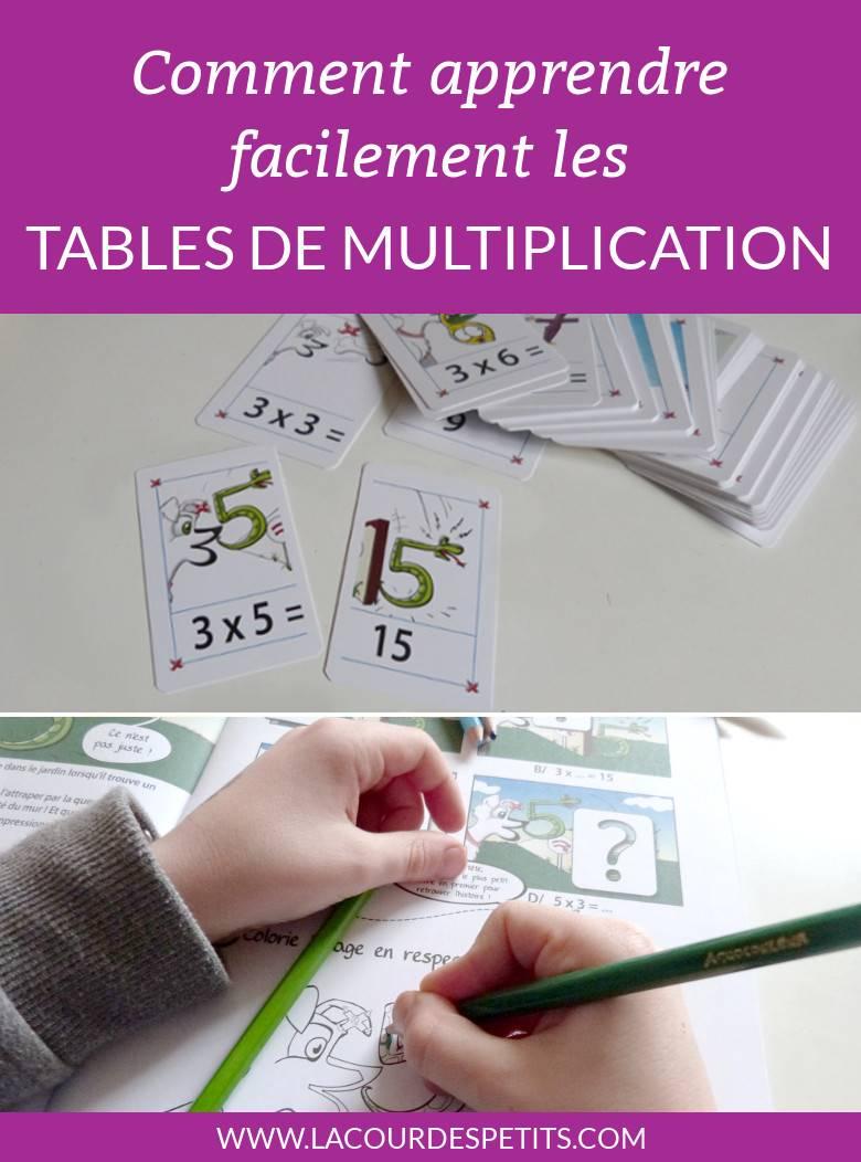 Apprendre Les Tables De Multiplication Facilement |La Cour encequiconcerne Apprendre Les Tables En S Amusant