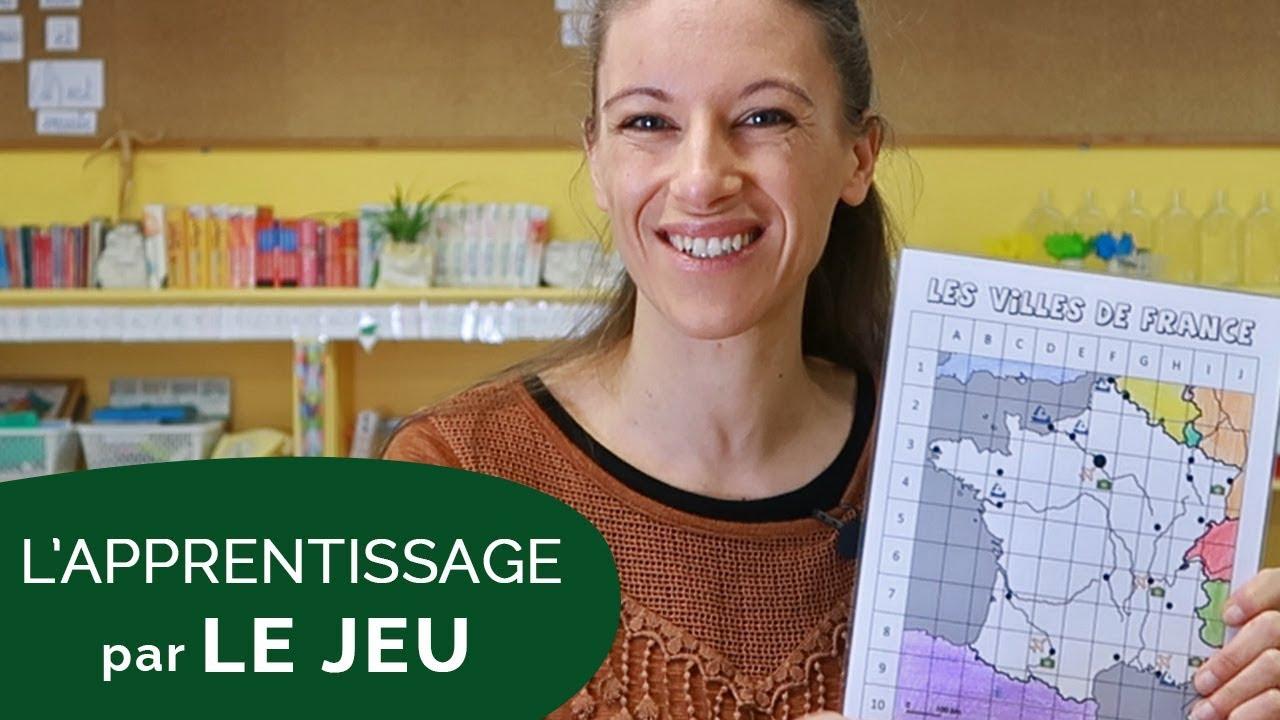 Apprendre Les Villes De France En S'amusant [Vlog 28] avec Jeux Geographique Ville De France