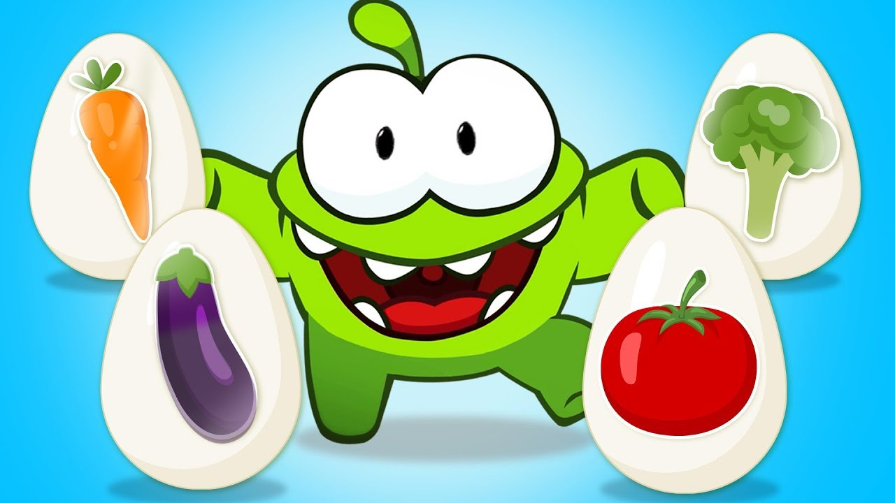 Apprenez Des Légumes Avec Des Œufs Surprise | Om Nom avec Nom Legume