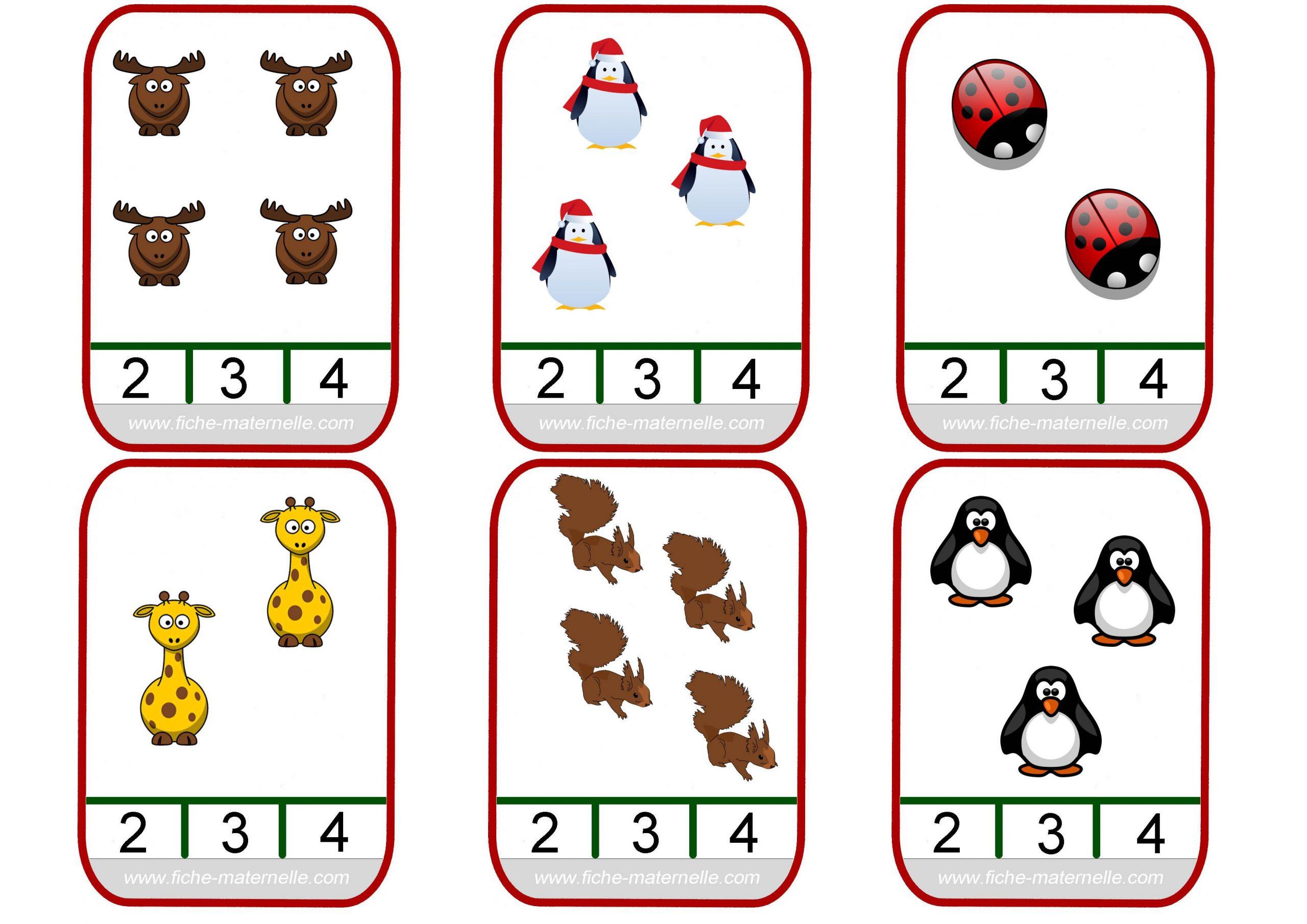 Approcher Les Quantités Et Les Nombres - Avec Des Pinces À avec Jeux Avec Chiffres