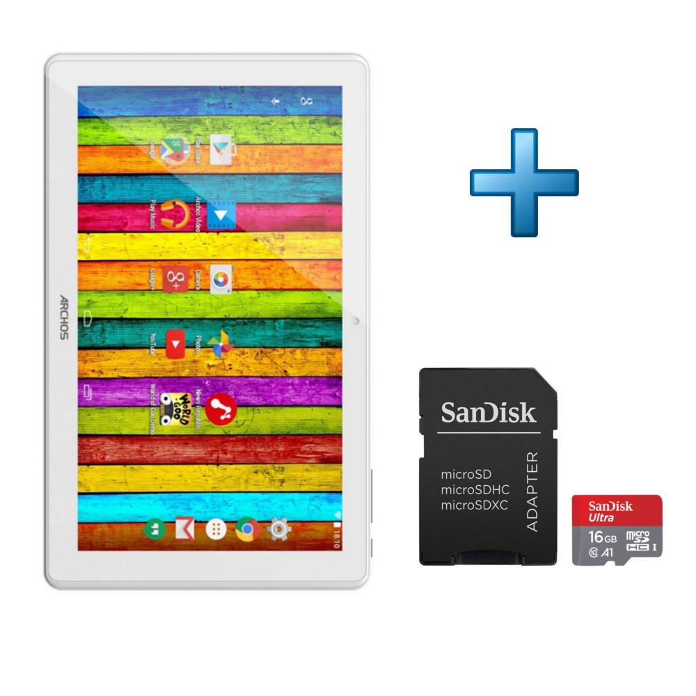 Archos 101 Platinum 16 Go 3G Gris + Carte Mémoire 16 Go + tout Carte Memoire Tablette