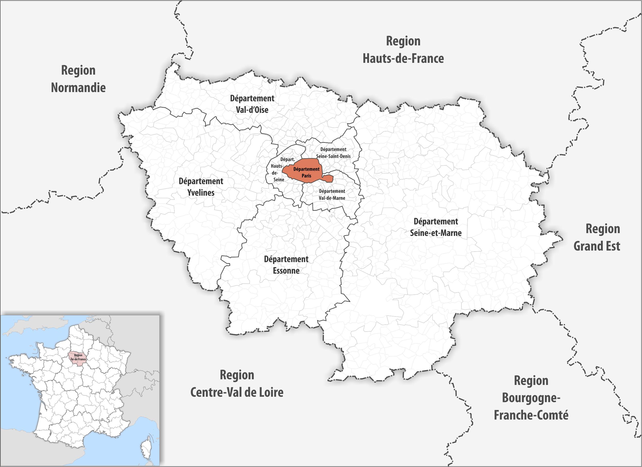 Arrondissement Of Paris - Wikipedia concernant Departement Francais 39
