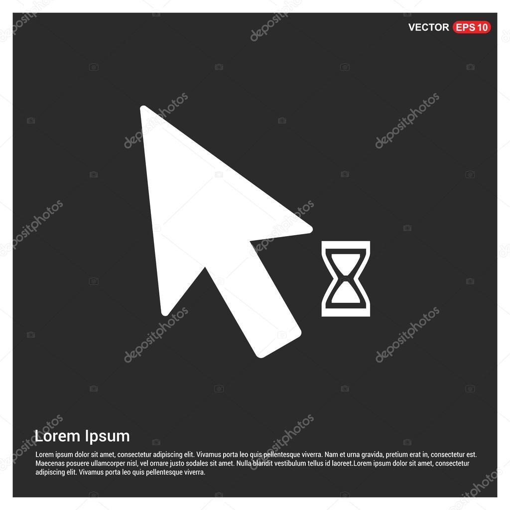 Arrow Mouse Web Icon — Stock Vector © Ibrandify #95903864 à La Souris Du Web
