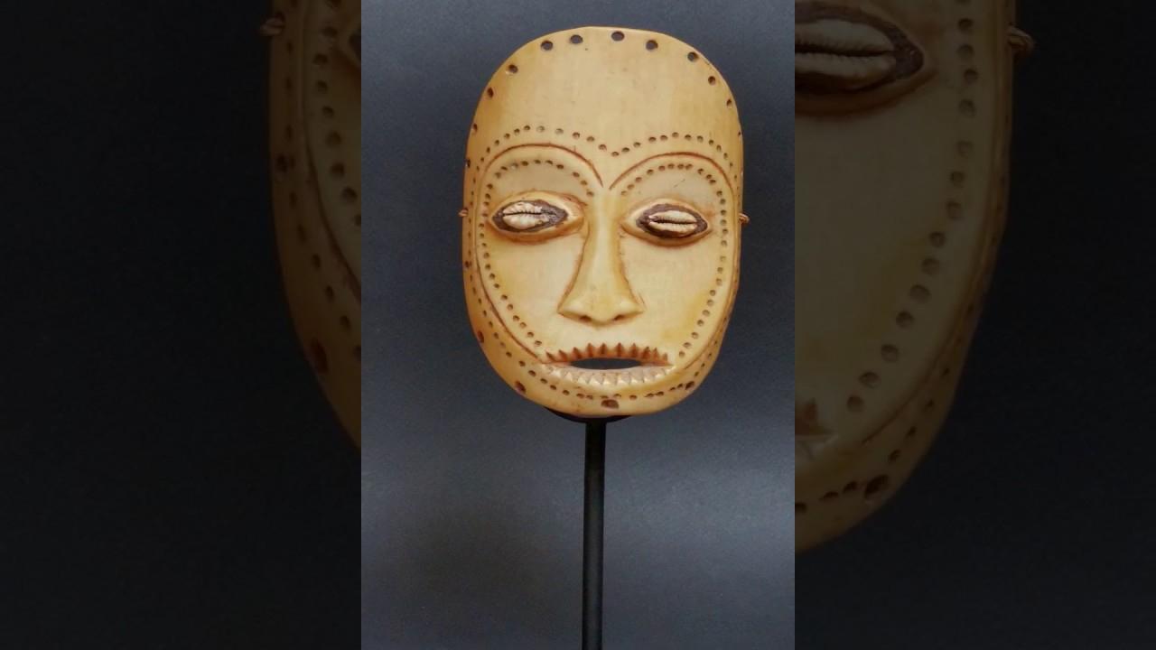 Art Africain - Masque Africain - Masque Lega Lukungu serapportantà Masque Afriquain