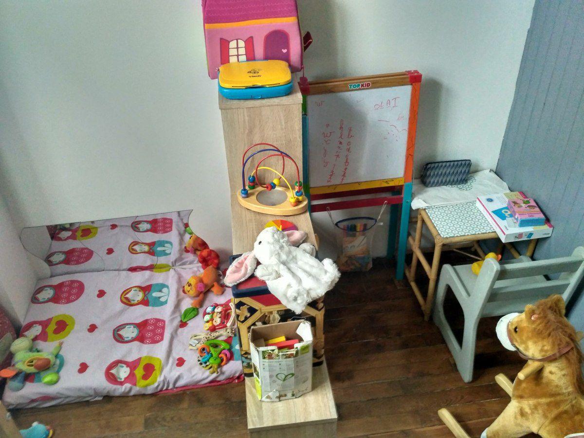 Assistante Maternelle : Aménagement D'un Espace Bébé. #blog encequiconcerne Jeux De Bébé Lili