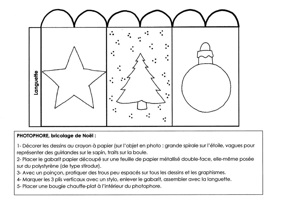 Atelier Bricolage Noël: Photophore - École Maternelle Gellow destiné Noel Maternelle Grande Section